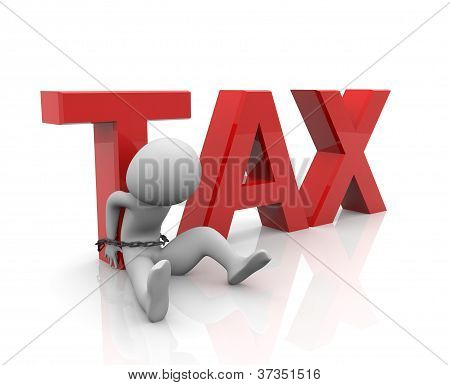 Tied person with Tax