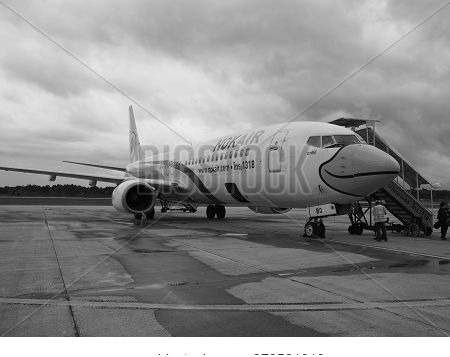 Trang, Thailand. 10th October 2018: Aircraft Of Nok Airlines Waiting For Passengers, Nok Scoot Has C
