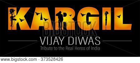Vector Illustration Of Shaheed Diwas. Commemoration Day. Martyr's Day. Poster For Salute Indian Army