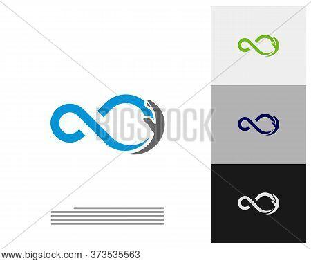 Infinity Care Logo Vector Template, Creative Infinity Logo Design Concept