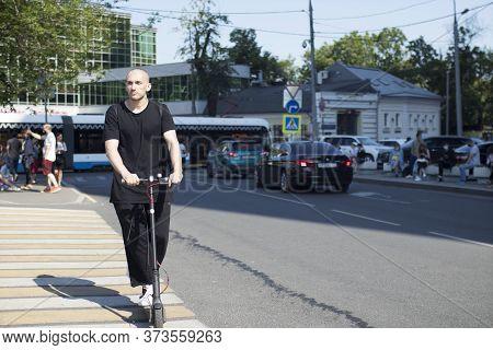 Moscow, Russia - 26.06.2020, The Film Director, Kirill Serebrennikov, Was Convicted Of Embezzling Go