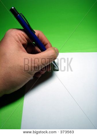 Lefthand Writing