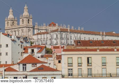 Church Or Monastery Of Sao Vicente De Fora Monastery Of St. Vincent Outside The Walls In Lisbon, Por