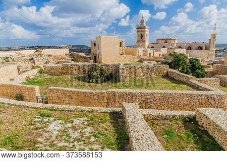 Cittadella, Citadel Of Victoria, Gozo Island, Malta