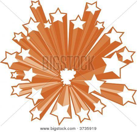 Appealing starburst vector pictures