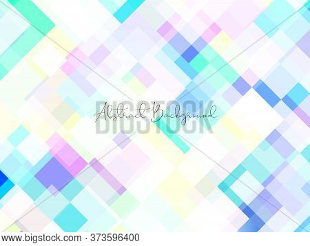 Creative Minimal Geometric With Dynamic Shapes Abstract Colorful Vibrant Color Background Wallpaper.