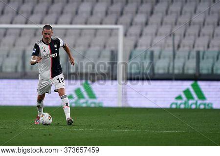 Torino (italy) 26th June 2020. Italian Serie A. Juventus Fc Vs Us Lecce. Leonardo Bonucci Of Juventu