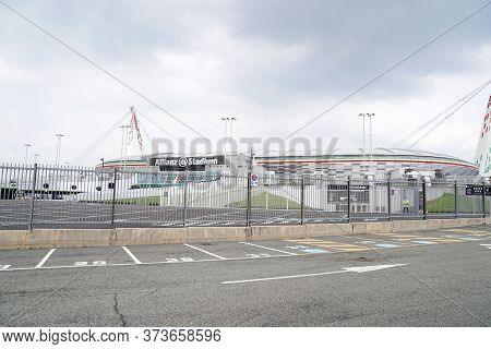 Torino (italy) 26th June 2020. Italian Serie A. Juventus Fc Vs Us Lecce. A General View Of Juventus