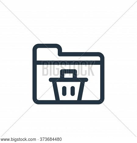 folder icon isolated on white background from document and files collection. folder icon trendy and