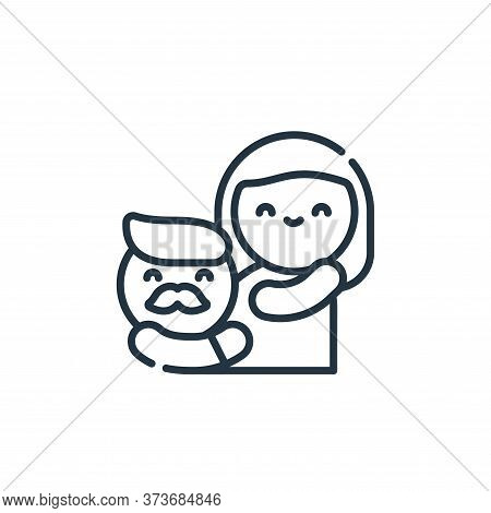 pregnancy icon isolated on white background from family life collection. pregnancy icon trendy and m