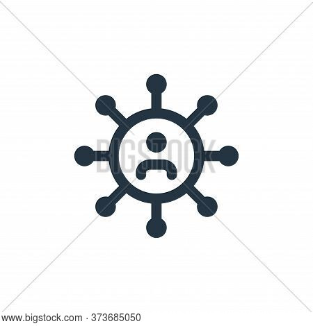 user icon isolated on white background from web apps seo collection. user icon trendy and modern use