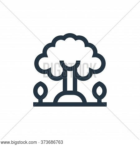 tree icon isolated on white background from mother earth day collection. tree icon trendy and modern