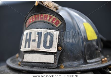 Isolated Firemans Hat