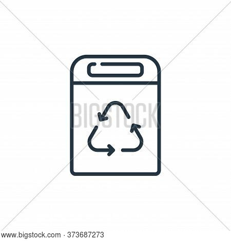 Recycle Bin Vector Icon From Mall Collection Isolated On White Background