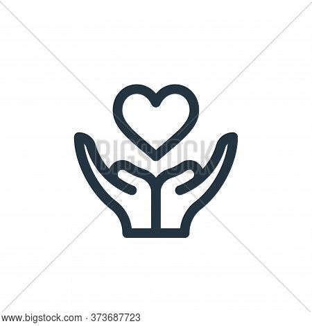 love icon isolated on white background from world love collection. love icon trendy and modern love