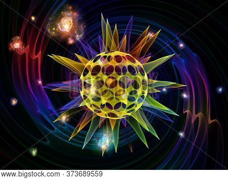 Abstract Viral Particle
