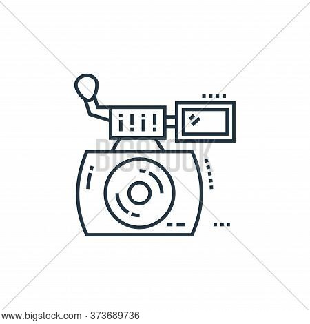 Instant Camera Vector Icon From Technology Devices Collection Isolated On White Background