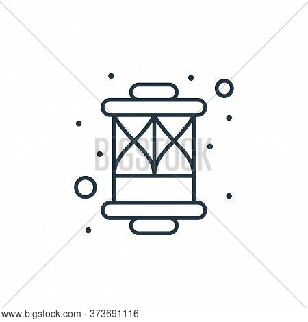 lanterns icon isolated on white background from islam and ramadan collection. lanterns icon trendy a
