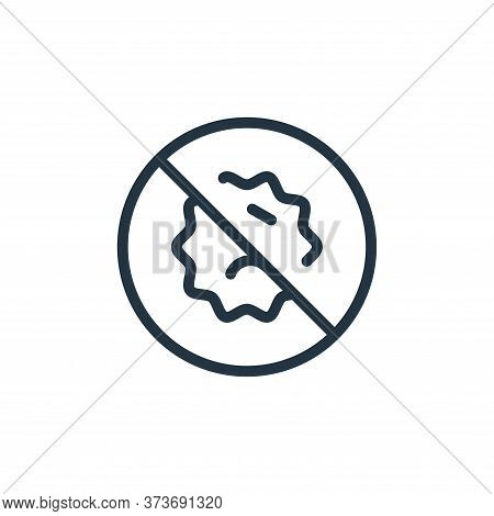 Banned Vector Icon From Coronavirus Collection Isolated On White Background