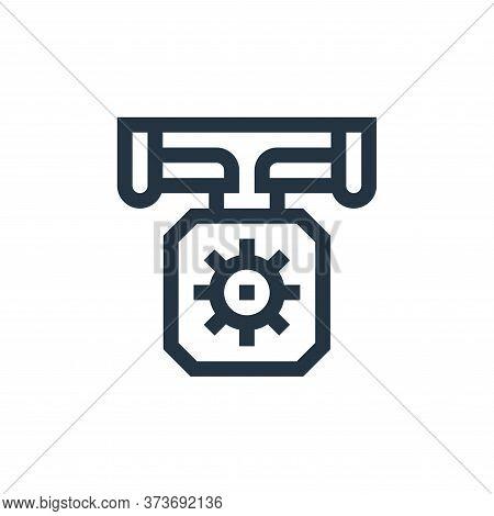 manufacturing icon isolated on white background from manufacturing collection. manufacturing icon tr