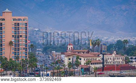 Ensenada, Mexico - November 19, 2019: Ensenada Is A Coastal City In Baja, Mexico And Is The Destinat