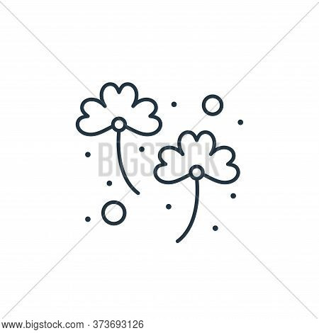 clover icon isolated on white background from saint patrick collection. clover icon trendy and moder