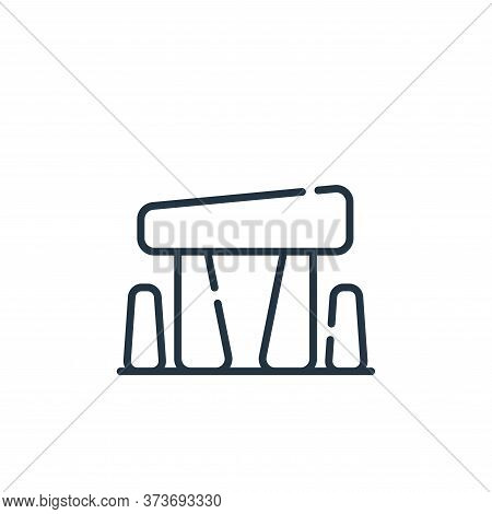 stonehenge icon isolated on white background from england collection. stonehenge icon trendy and mod