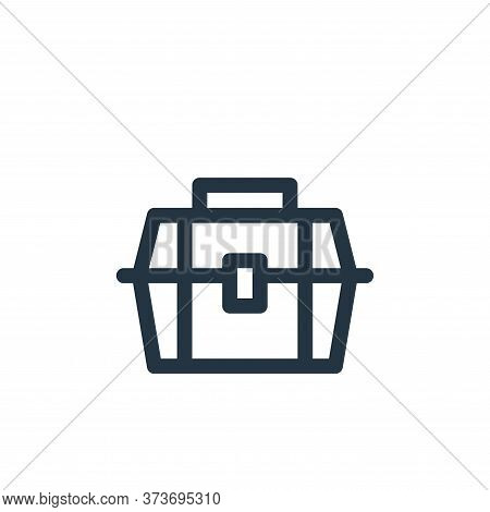 toolbox icon isolated on white background from labour day collection. toolbox icon trendy and modern