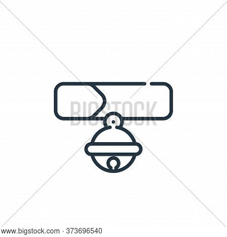 collar icon isolated on white background from pets collection. collar icon trendy and modern collar