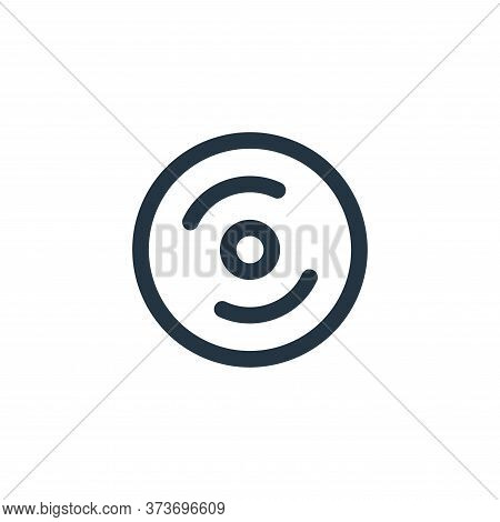 Cd Burning Vector Icon From Holiday Collection Isolated On White Background