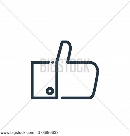 like icon isolated on white background from ricon collection. like icon trendy and modern like symbo