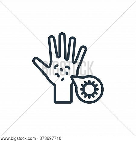 germs icon isolated on white background from hygiene collection. germs icon trendy and modern germs
