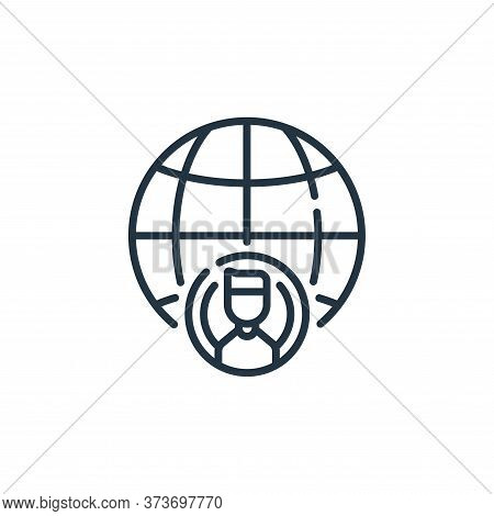internet icon isolated on white background from social media collection. internet icon trendy and mo