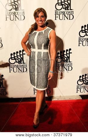 NEW YORK-SEPT. 24: Sportscaster Tina Cervasio attends the 27th annual Great Sports Legends Dinner for the Buoniconti Fund at the Waldorf-Astoria on September 24, 2012 in New York City.