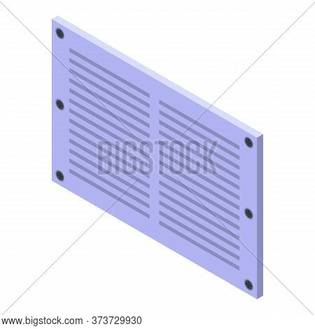 Cool Ventilation Icon. Isometric Of Cool Ventilation Vector Icon For Web Design Isolated On White Ba