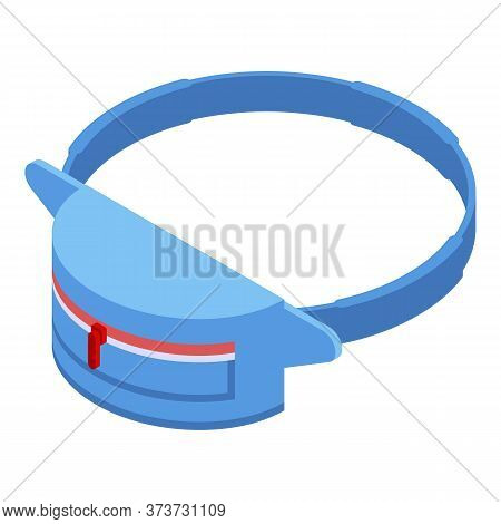 Accessory Waist Bag Icon. Isometric Of Accessory Waist Bag Vector Icon For Web Design Isolated On Wh