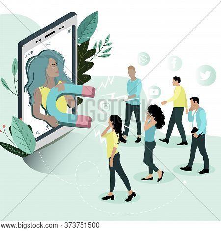 Influencer Social Media, Influencer Marketing, Social Media Or Network Promotion, Smm Promotion Meth