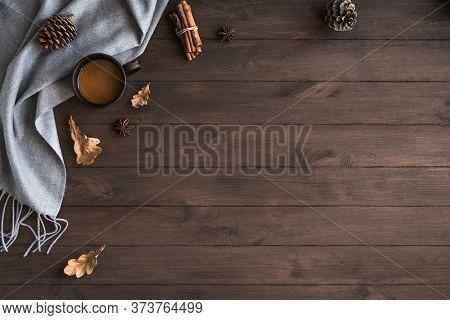 Coffee And Warm Plaid