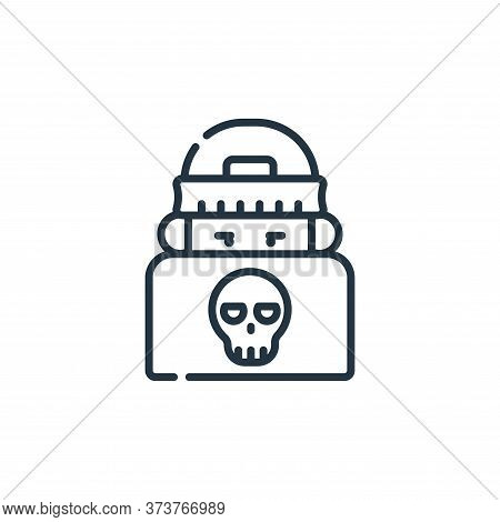 Hacker Vector Icon From Hacker Collection Isolated On White Background