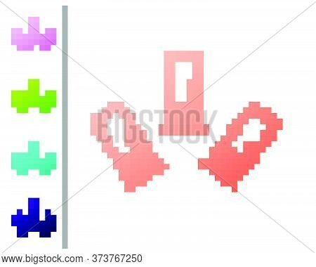 Coral Cartridges Icon Isolated On White Background. Shotgun Hunting Firearms Cartridge. Hunt Rifle B