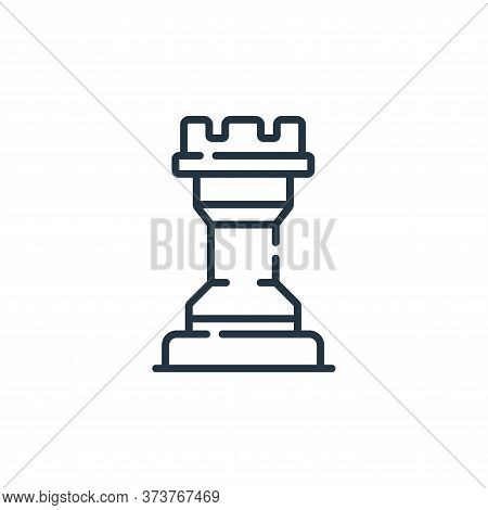 chess piece icon isolated on white background from england collection. chess piece icon trendy and m