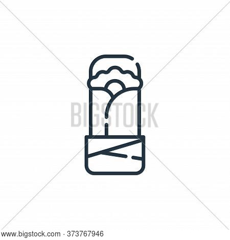 Burrito Vector Icon From Mexico Collection Isolated On White Background