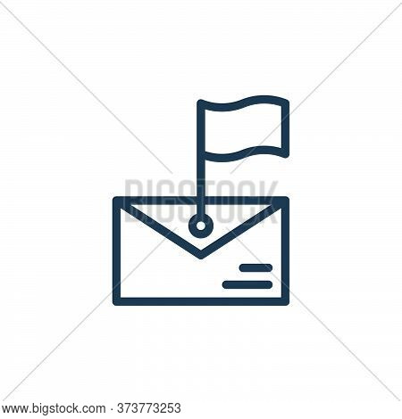 message icon isolated on white background from contact collection. message icon trendy and modern me