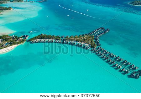Bungalows from the sky
