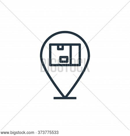 location icon isolated on white background from branding collection. location icon trendy and modern