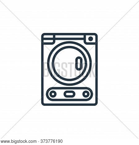 dryer icon isolated on white background from laundry collection. dryer icon trendy and modern dryer