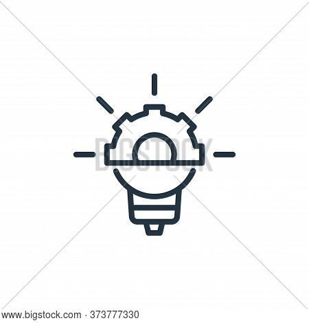 idea icon isolated on white background from engineering collection. idea icon trendy and modern idea