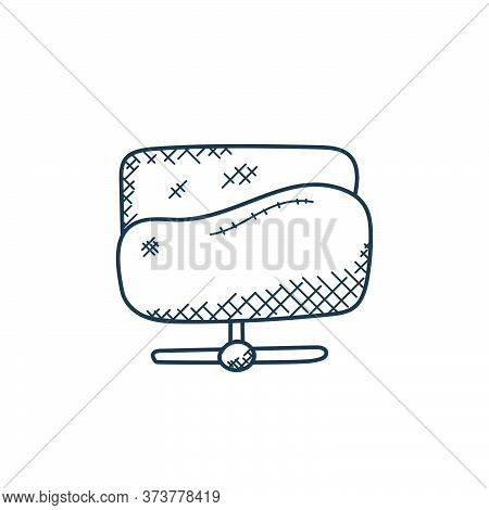 folder network icon isolated on white background from technology collection. folder network icon tre