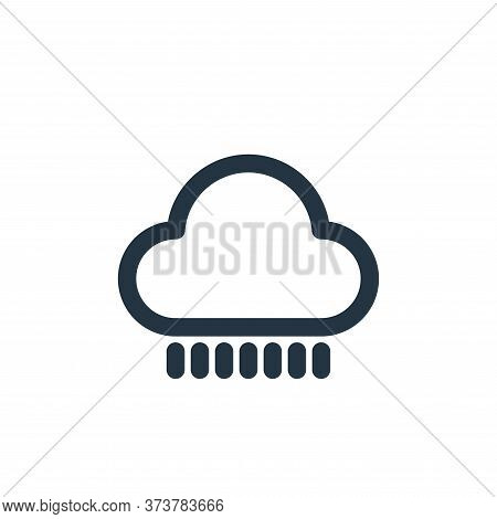 Rainy Vector Icon From Holiday Collection Isolated On White Background