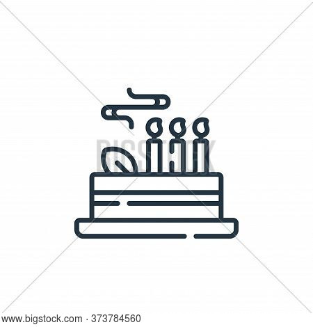 cake icon isolated on white background from celebration collection. cake icon trendy and modern cake